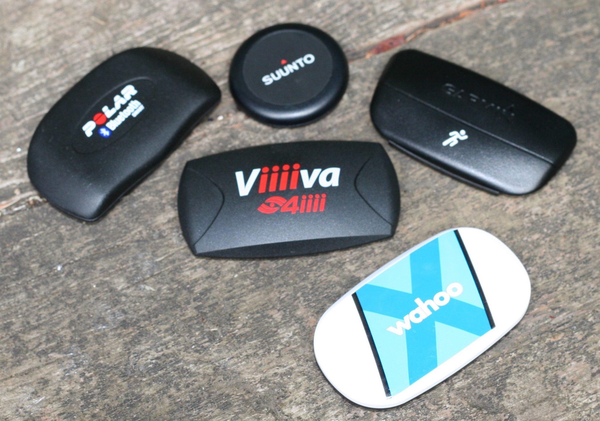 4iiii Viiiva V100 Heart Rate Monitor, Polar H7, Wahoo TICKR-X, Suunto SMART Belt, Garmin HRM-RUN