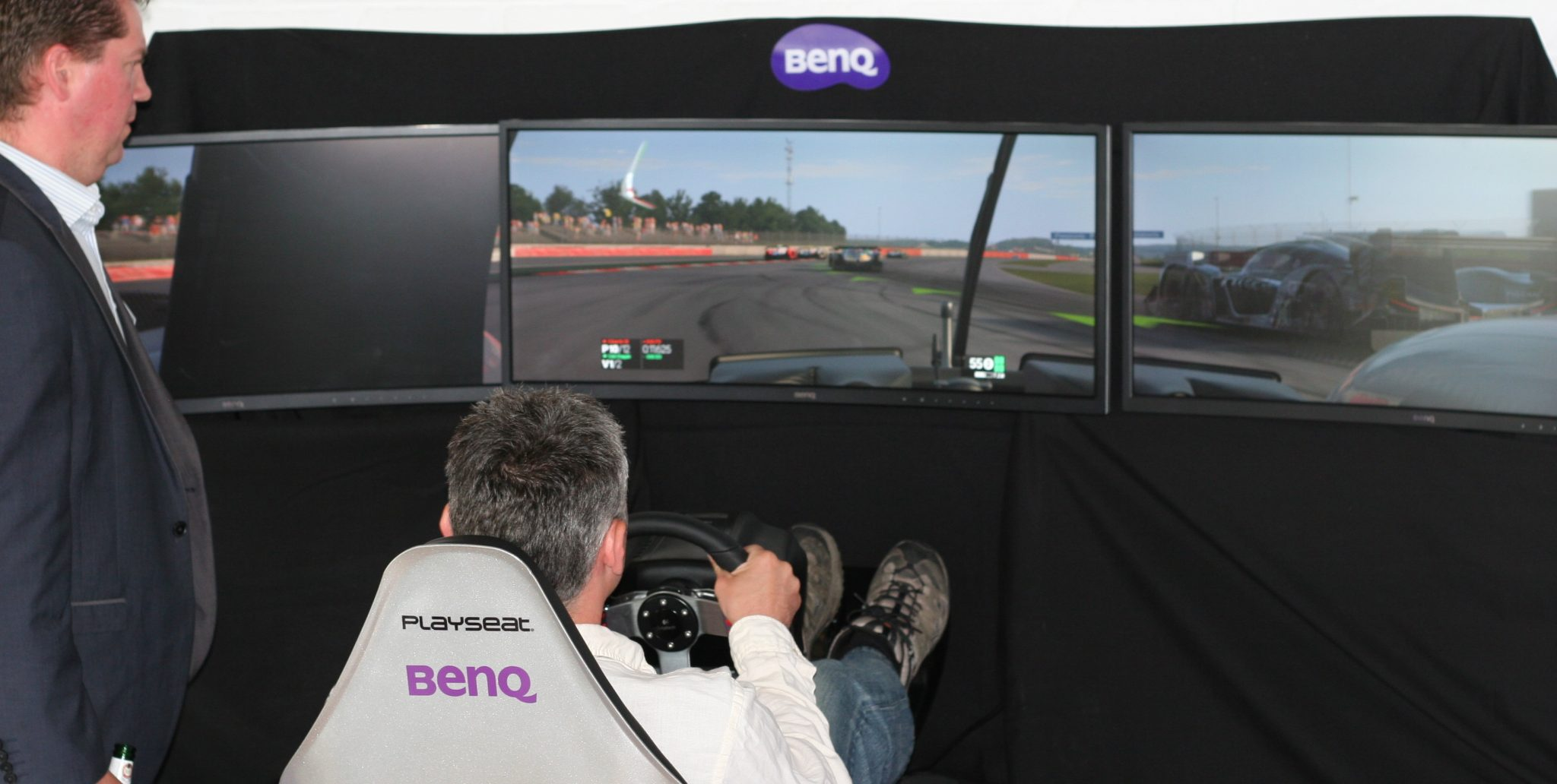 BENQ XR3501 Curved LCD Gaming Monitor