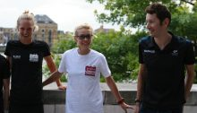 Emma Pallant & Stuart Hayes - AJ Bell London Triathlon
