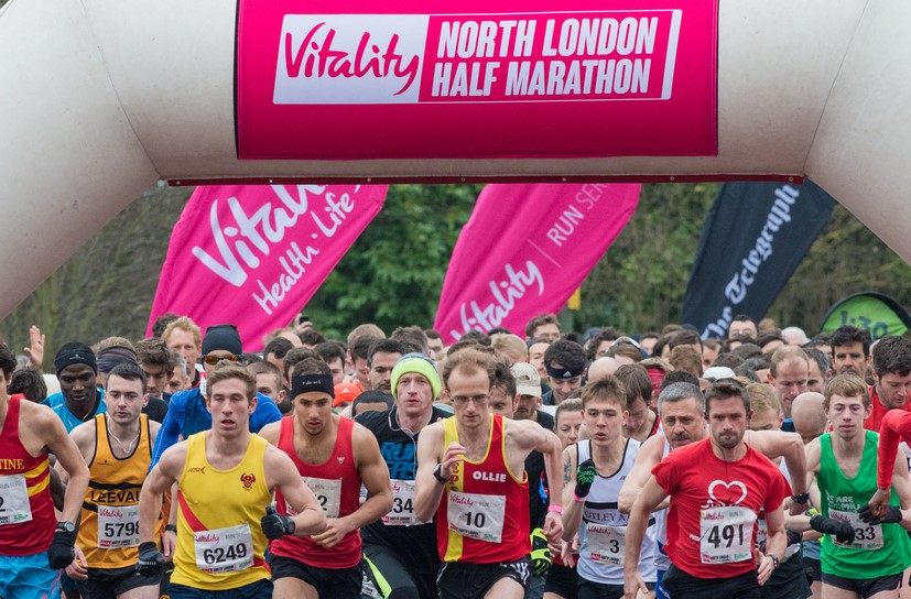 Vitality North London Half Marathon 2015