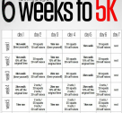 6 weeks to 5k training-plan