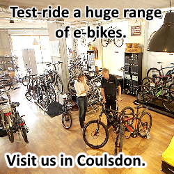 e-bike-showroom-coulsdon-cycling-made-easy