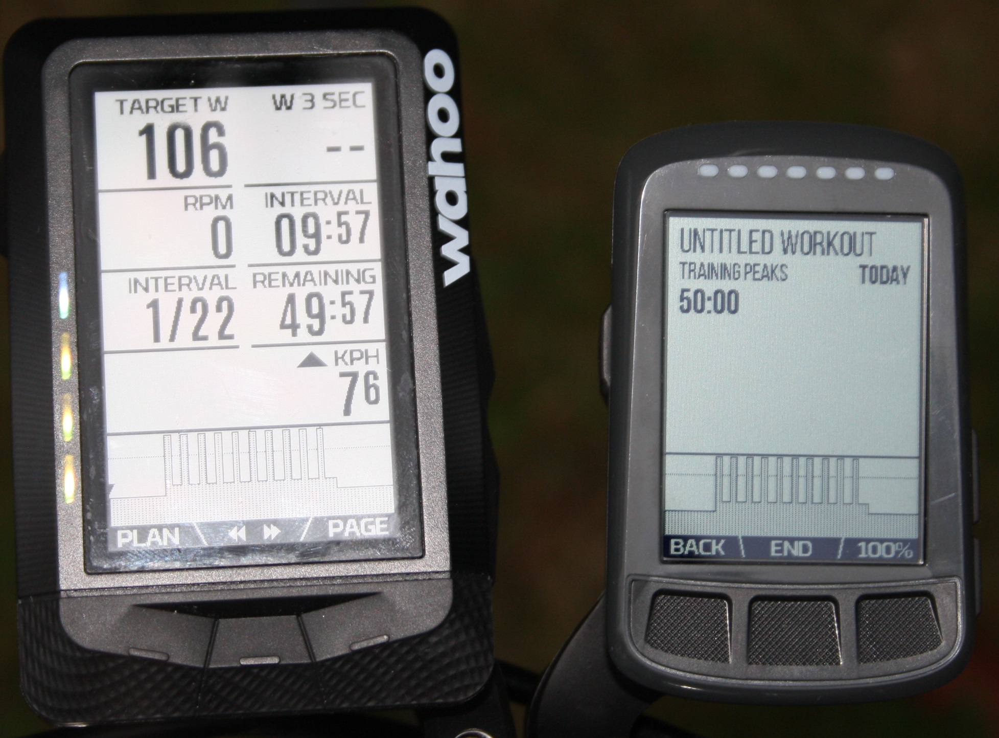 WAHOO ELEMNT / BOLT on the wahoo kickr kickr17 smart trainer review
