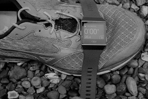 Fitbit Ionic GPS accuracy-bw