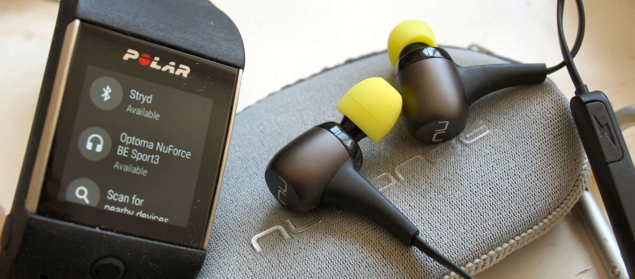 Running with Music - Optomo NuForce BE Sport3 Review Headphones