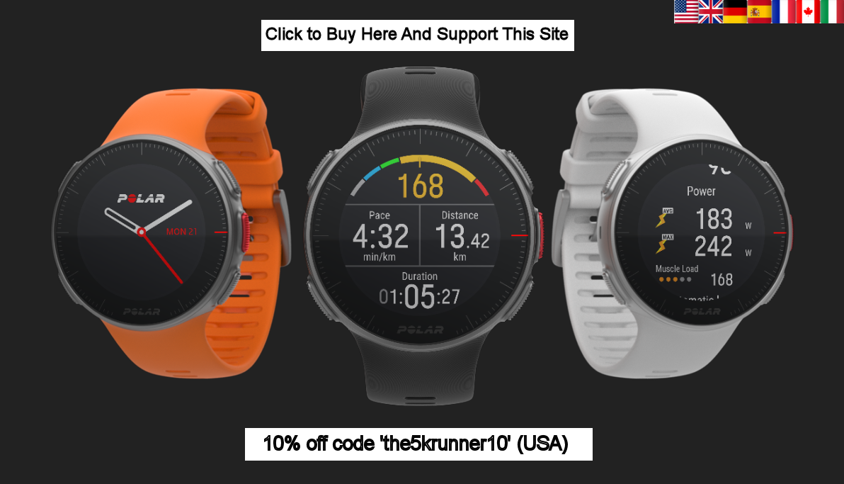 Polar Vantage 10 % off discount coupon promotion code