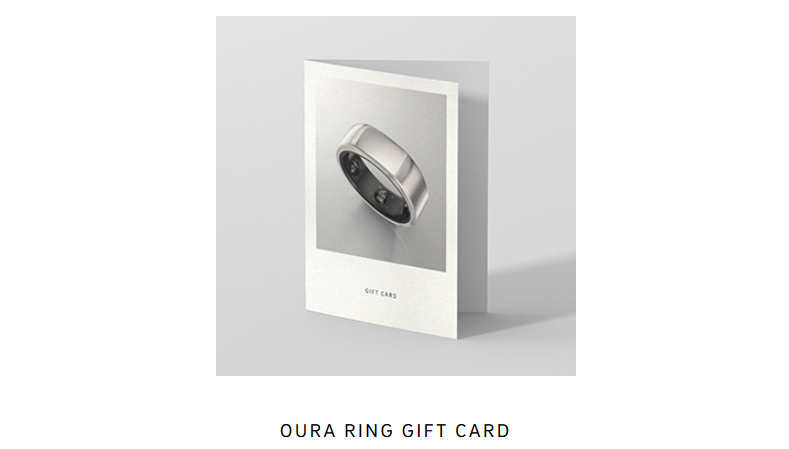 Oura Ring Gift Card