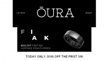 Oura Ring Black Friday