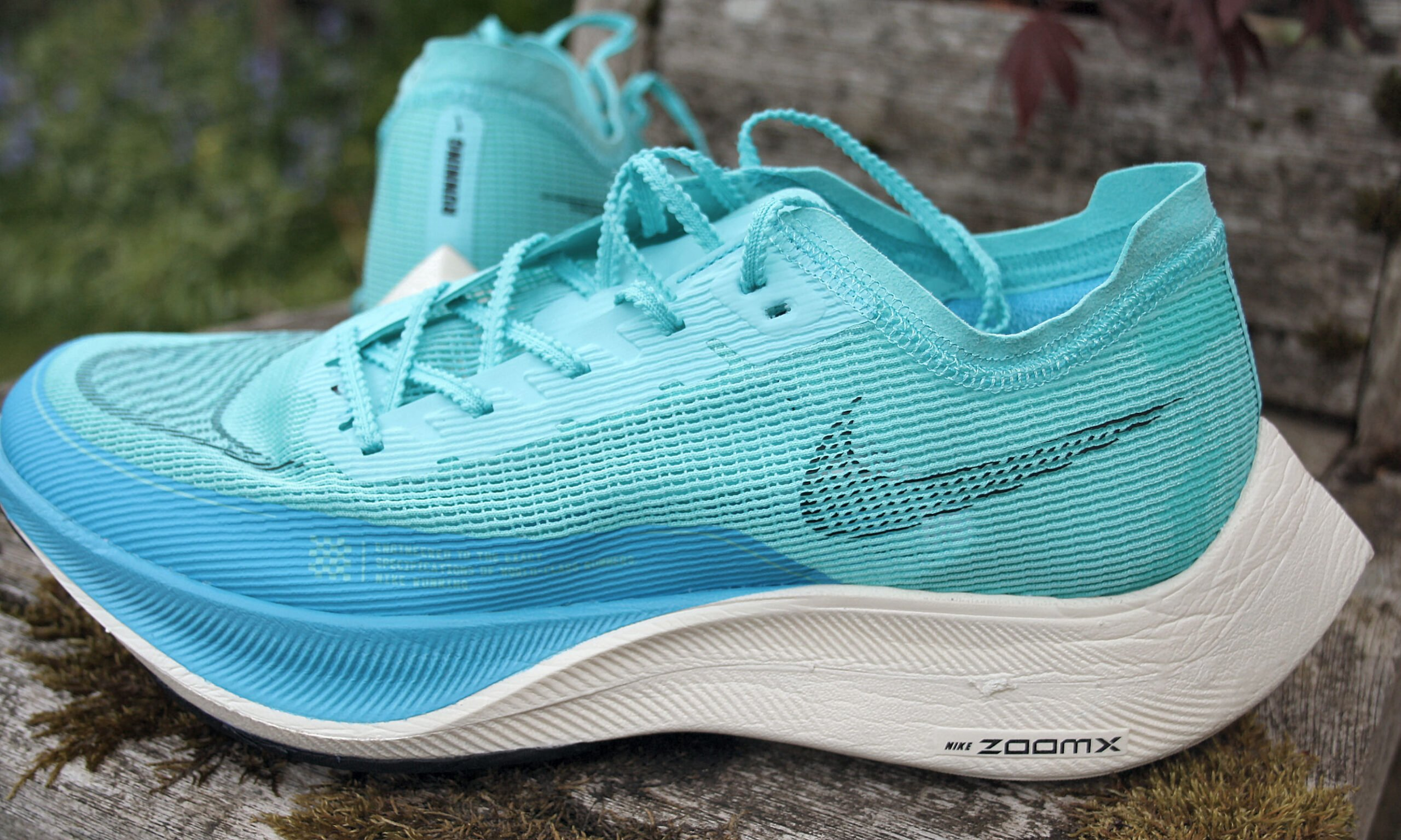 Nike ZoomX Vaporfly inside view