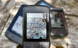 Wahoo Bolt colour map screen segments with rival Review - 2021's new ELEMNT, V2 buyers
