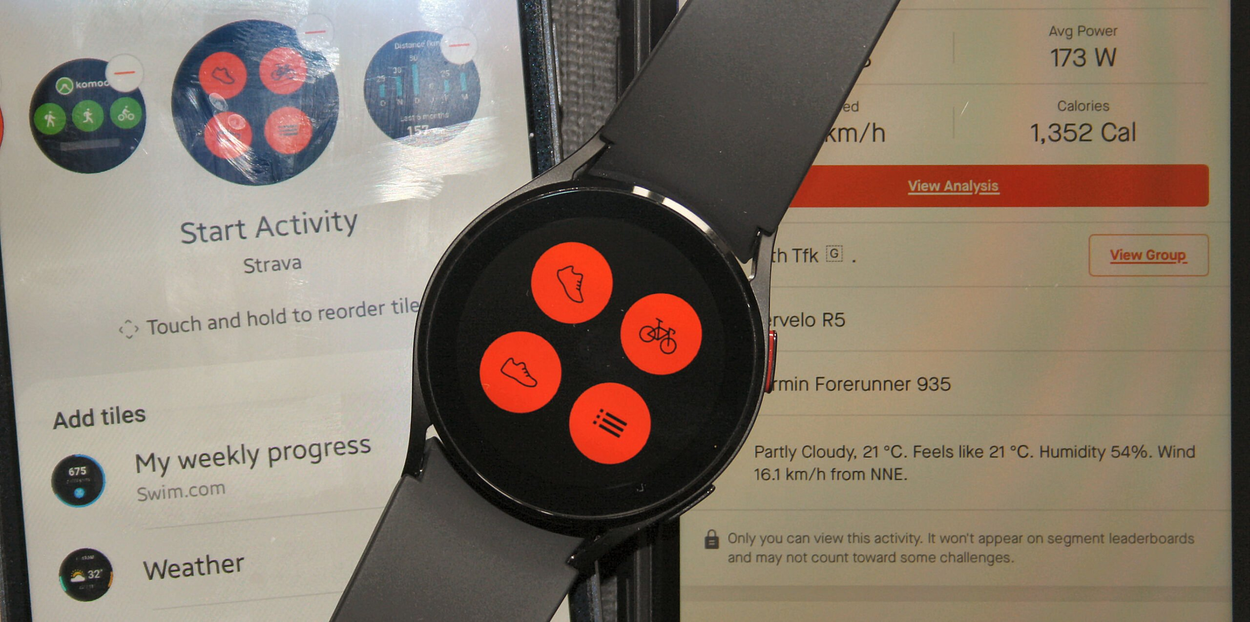 Samsung Galaxy Watch4 with Strava review